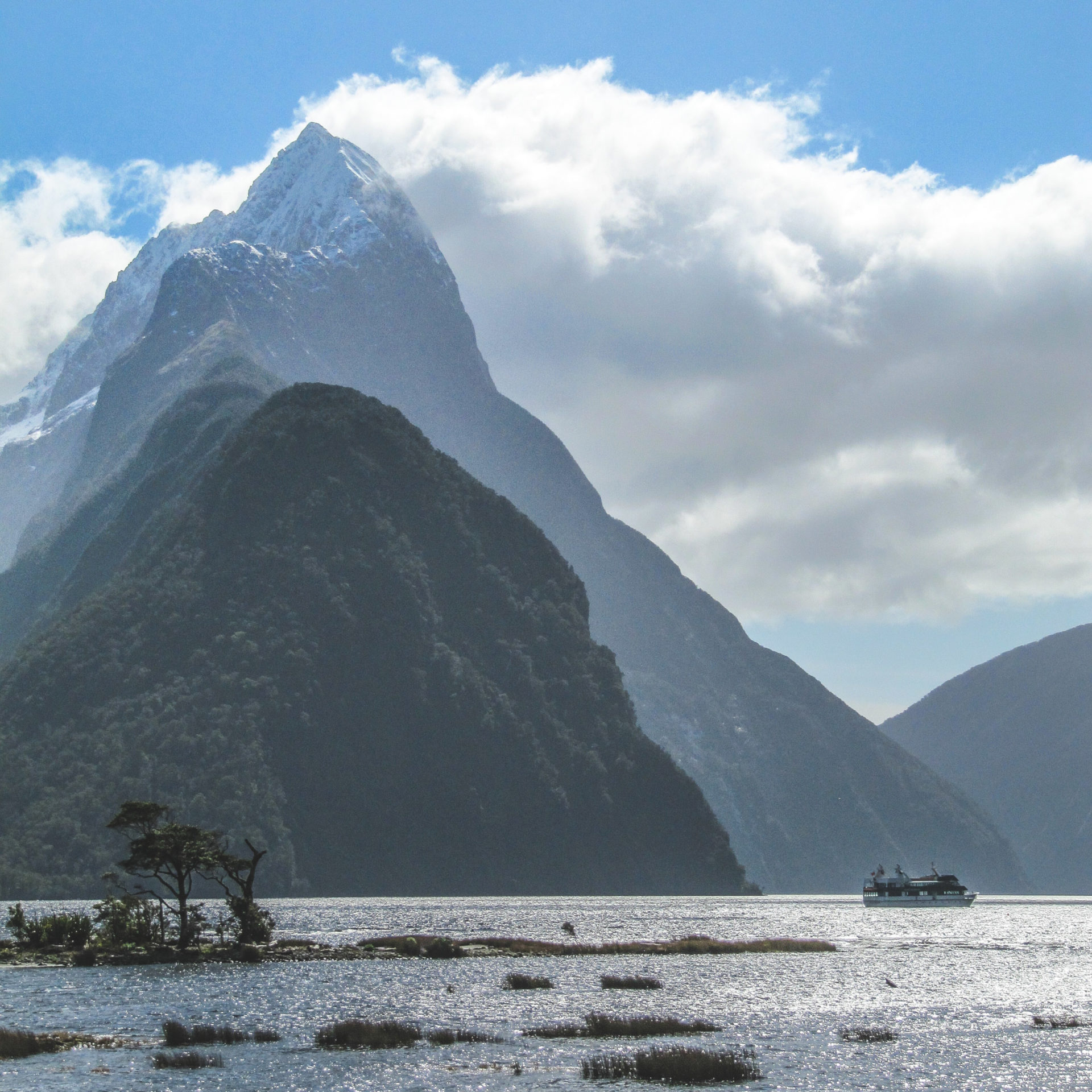 New Zealand south island itinerary milford sound